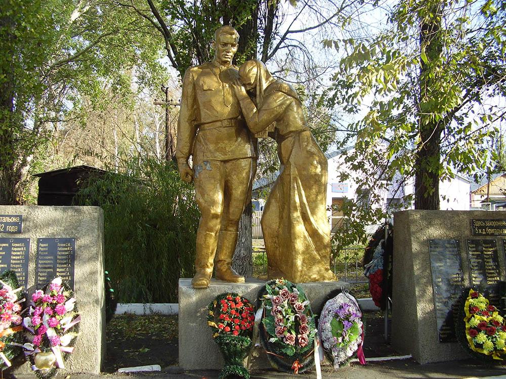 Mass Grave Soviet Soldiers No. 35