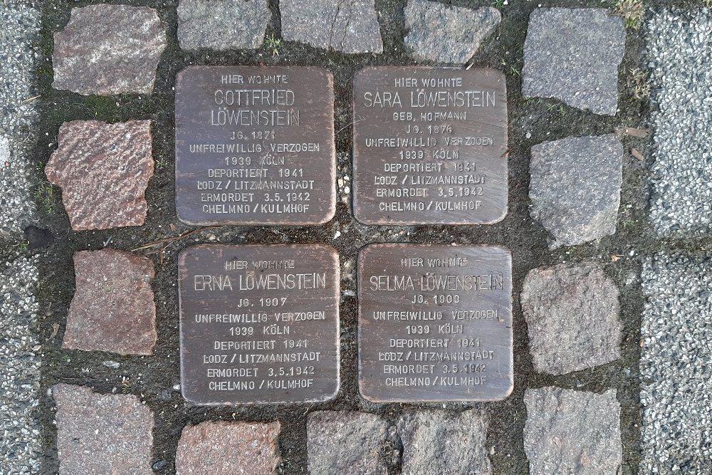 Stumbling Stone Kölner Straße 66