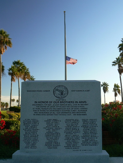Pearl Harbor Memorial Corpus Christi