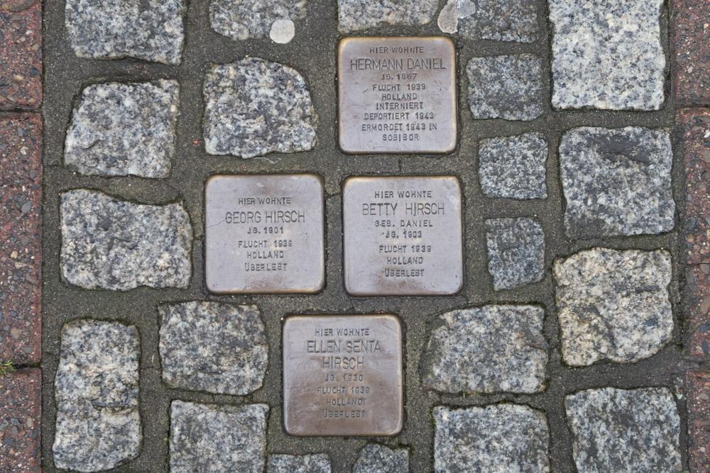 Stumbling Stones Lange Herzogstraße 35