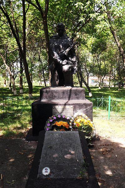 Mass Grave Soviet Soldiers Martonosha