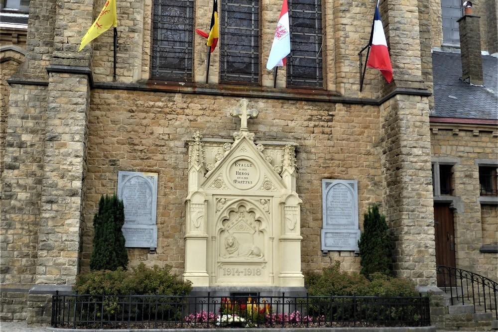 War Memorial Étalle