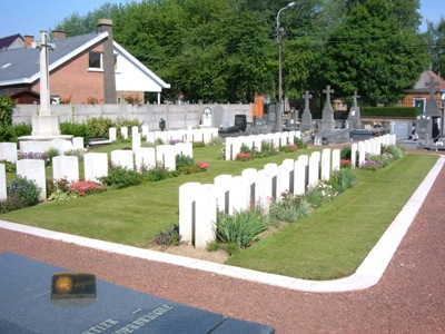 Commonwealth War Graves Comines