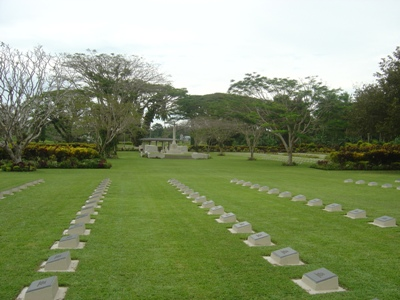 Commonwealth War Cemetery Rabaul