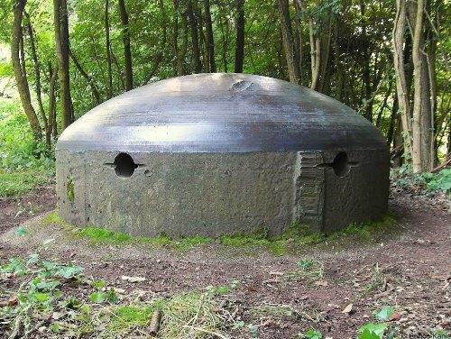 Westwall - Regelbau 120b Bunker Dillingen