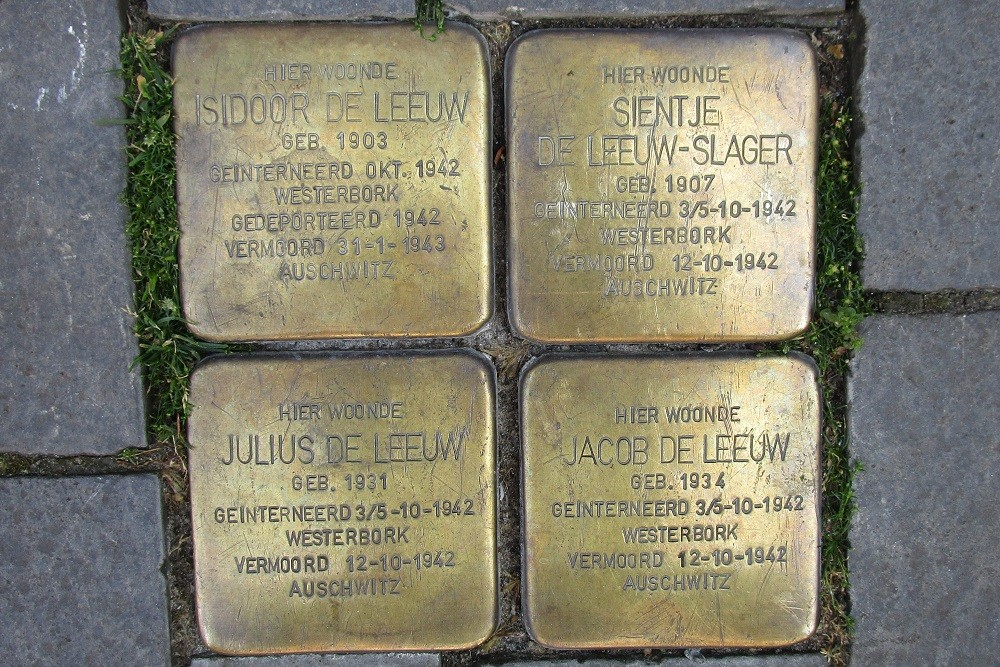 Remembrance Stones Stadsgravenstraat 67