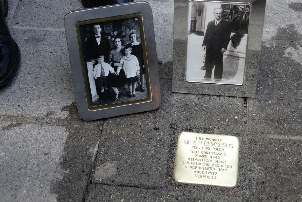 Stolperstein Lange Kievitstraat 73