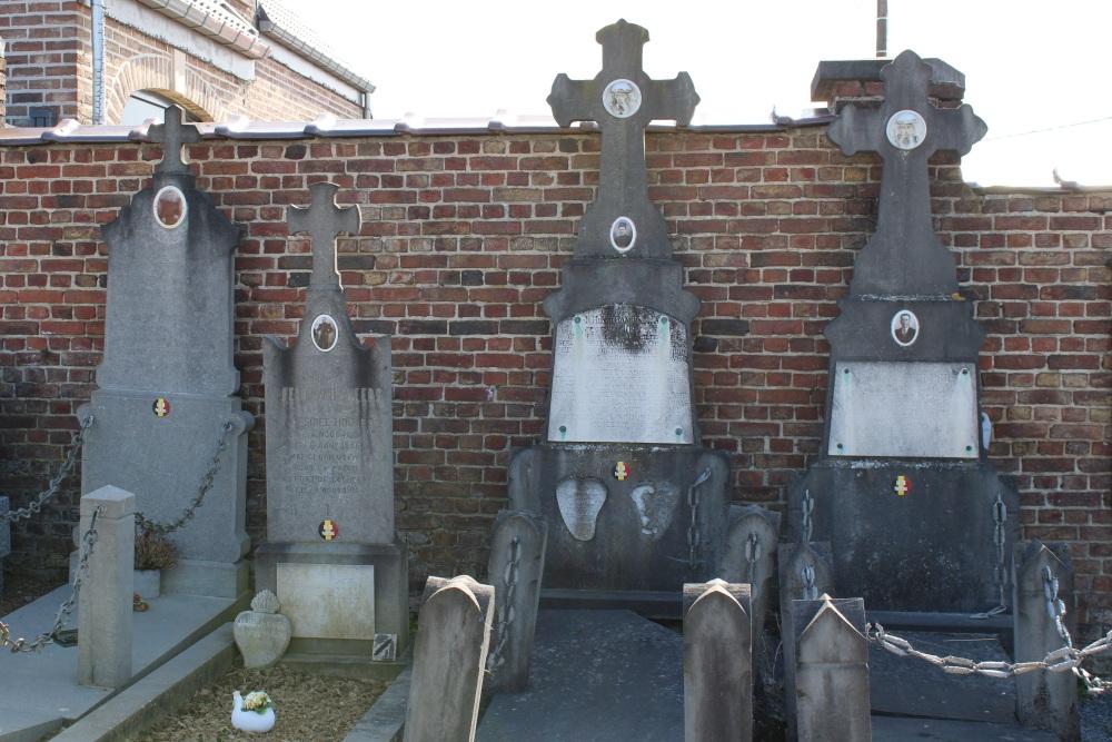 Belgische Oorlogsgraven Noduwez