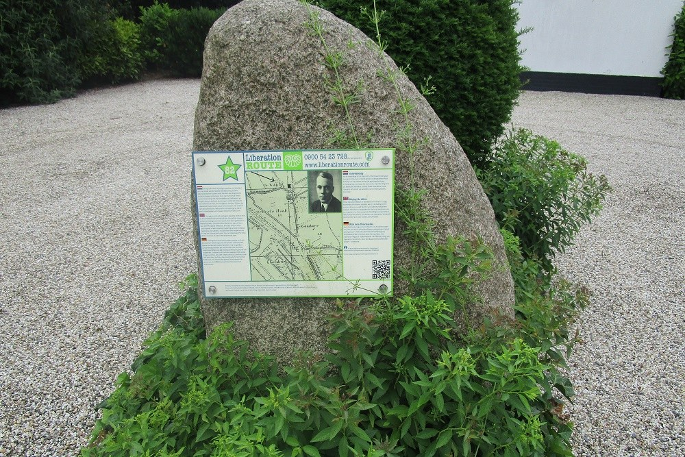 Liberation Route Marker 82