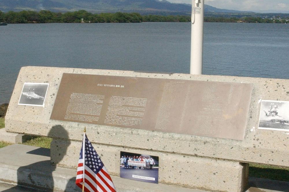 Monument U.S.S. Nevada