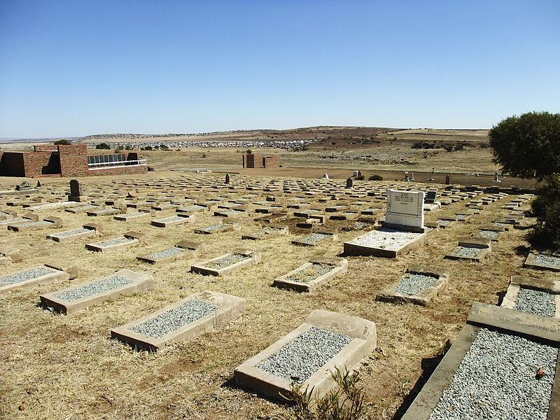 Brandfort (Winburg) Concentration Camp Cemetery