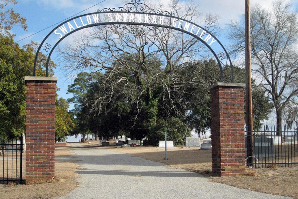 American War Grave Swallow Savannah Cemetery