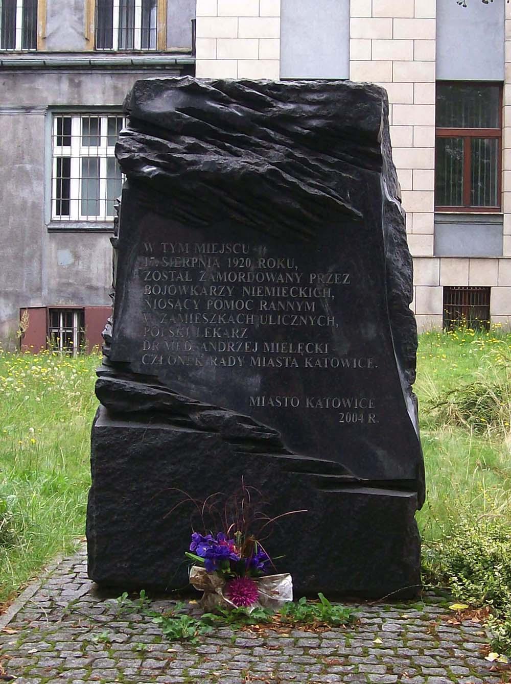 Memorial Murder of Andrzej Mielecki