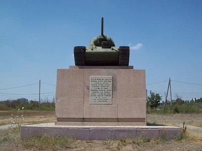T-34-76 Tank Volgograd