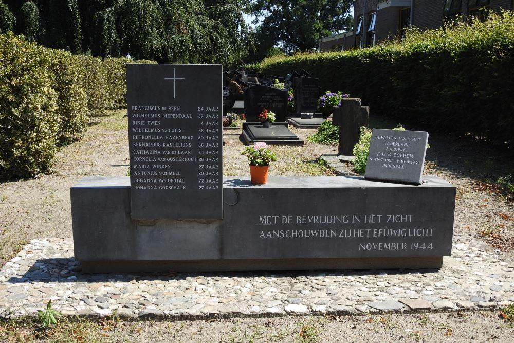 War Memorial Cemetery Den Hout