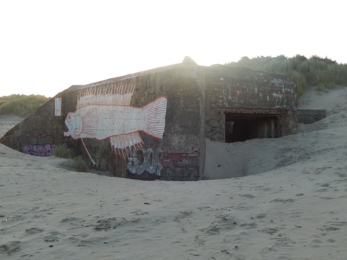 Stützpunkt Adolf - 219 - Doppelschartenstand