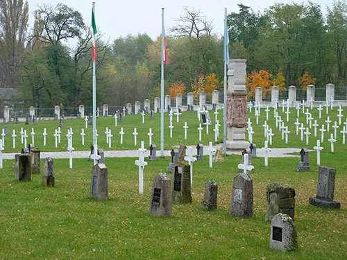 Oorlogsbegraafplaats Milovice