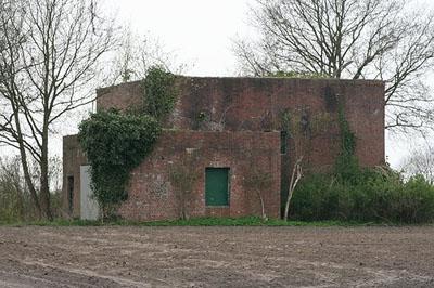 German Flak Bunkers Hochdonn