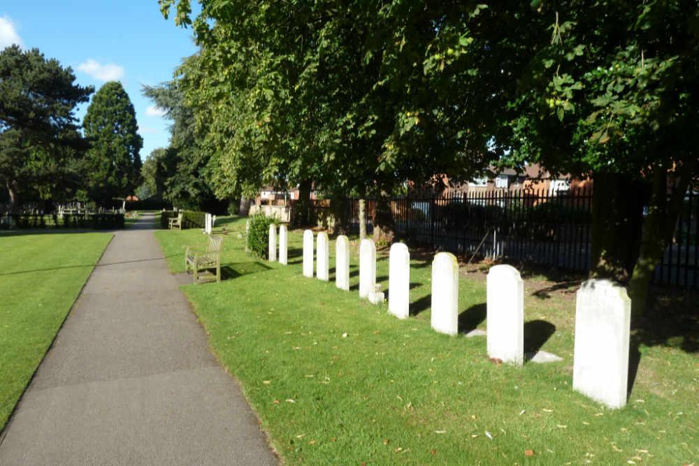 Graven Poolse Veteranen Newark-on-Trent