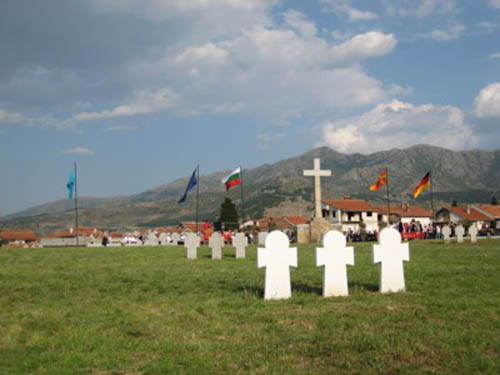German War Cemetery Prilep