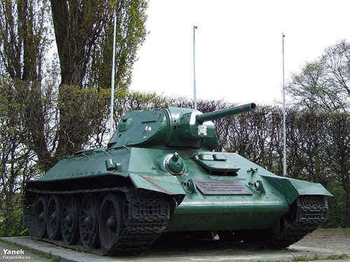 Liberation Memorial (T-34/76 Tank) Gdansk