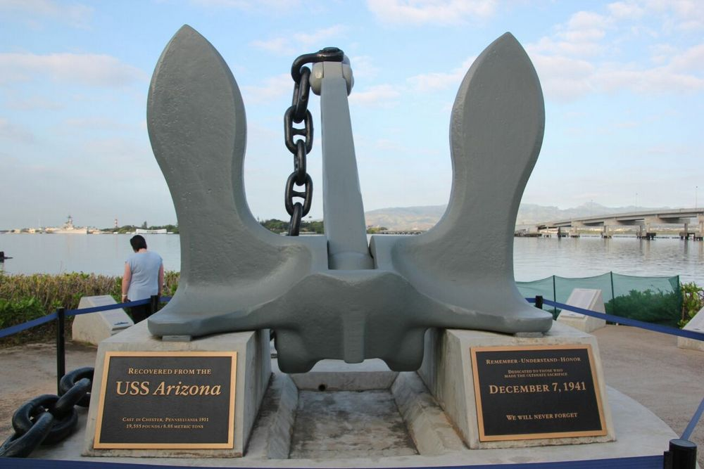 Memorial Anchor USS Arizona
