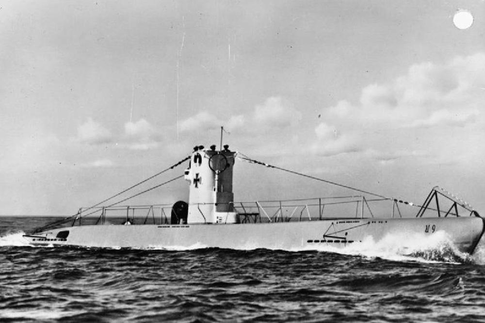 Ship Wreck Submarine U-15