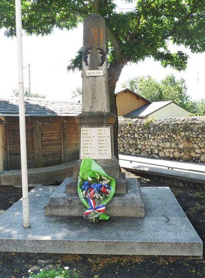 War Memorial Latour-de-Carol