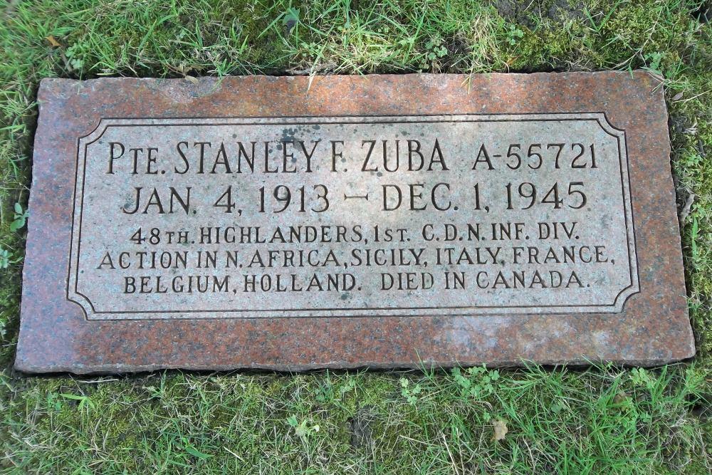 Oorlogsgraf van het Gemenebest Graceland Cemetery