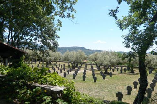 Duitse Oorlogsbegraafplaats Cuacos de Yuste