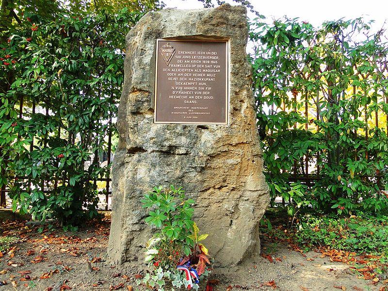 Monument Luxemburgse Verzetstrijders