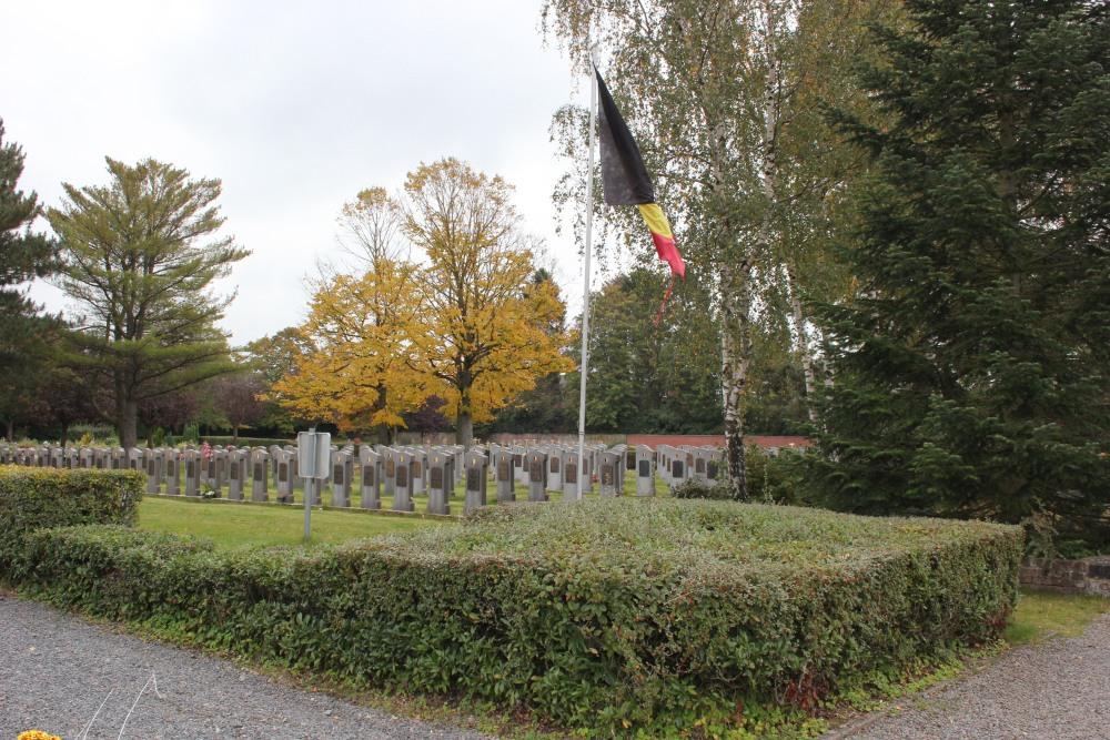 Veteran War Graves Cemetery Sainte-Anne Waterloo