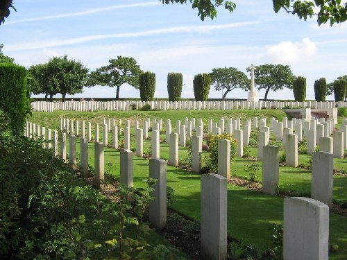 Commonwealth War Graves Abbeville Extension
