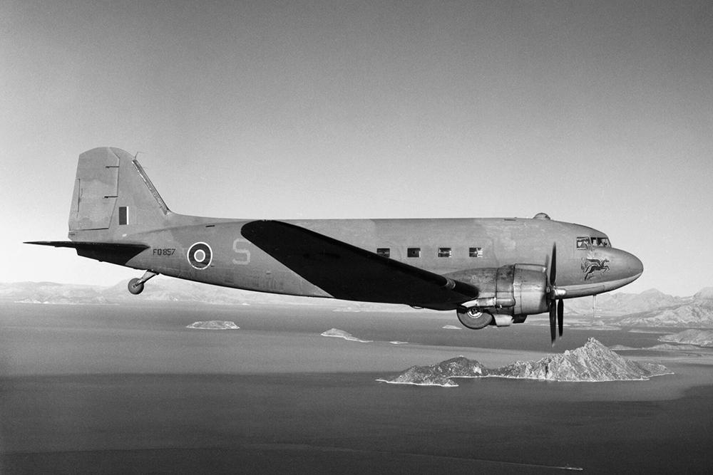 Crashlocatie Douglas Dakota Mk III (DC-3) KG494
