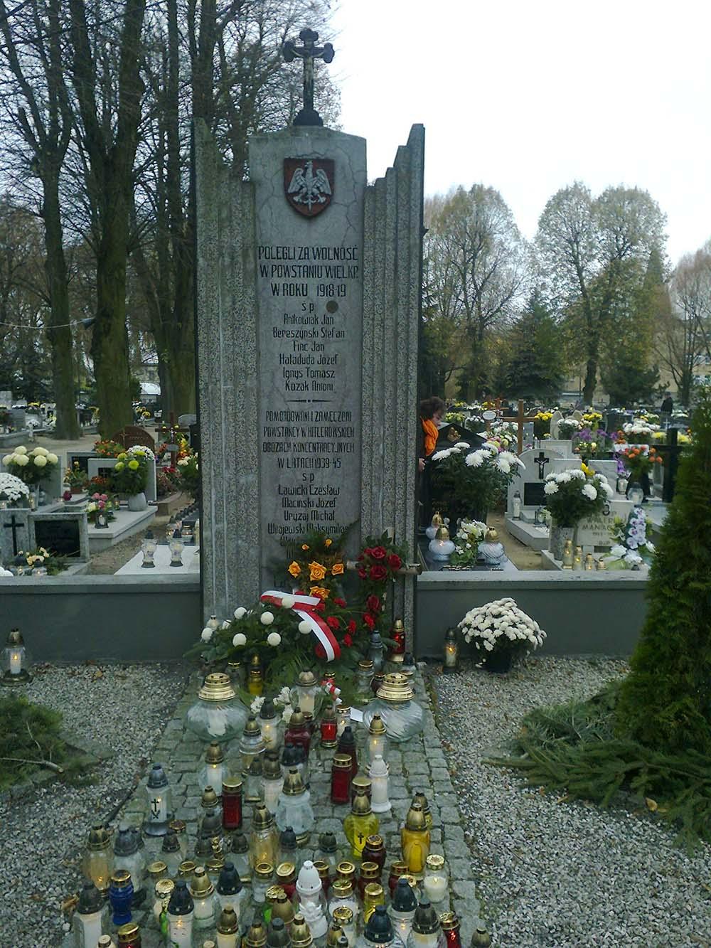 Mass Grave Polish Insurgents & Victims Fascism