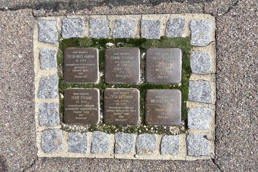 Stumbling Stones Karlstraße 31
