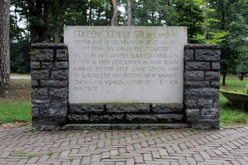 Monument Sta een ogenblik stil