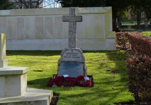 Belgian Memorial Welford Road Cemetery