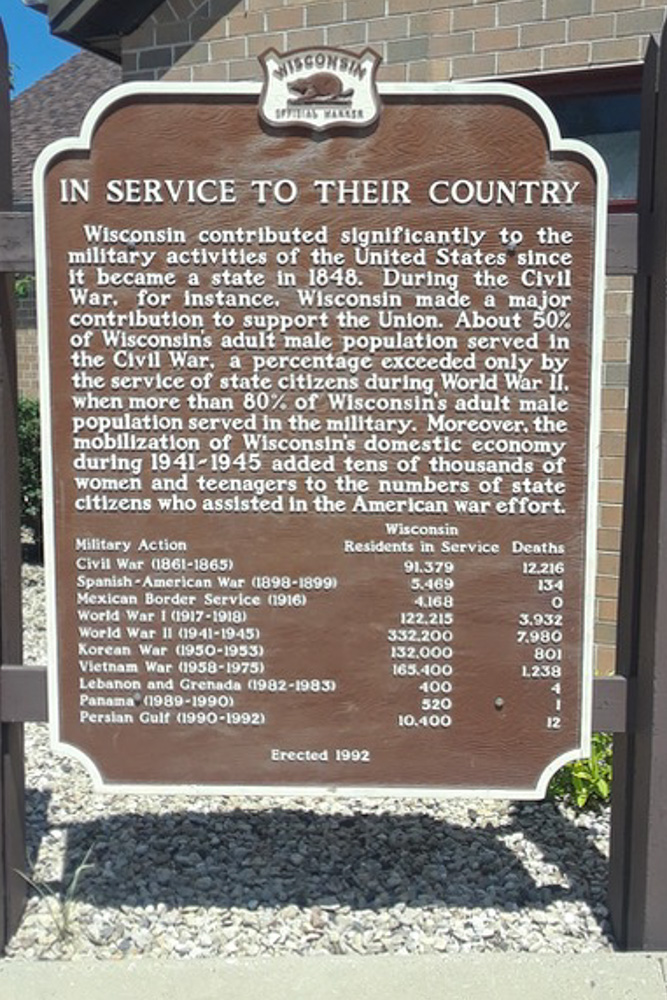 Memorial Citizens Wisconsin