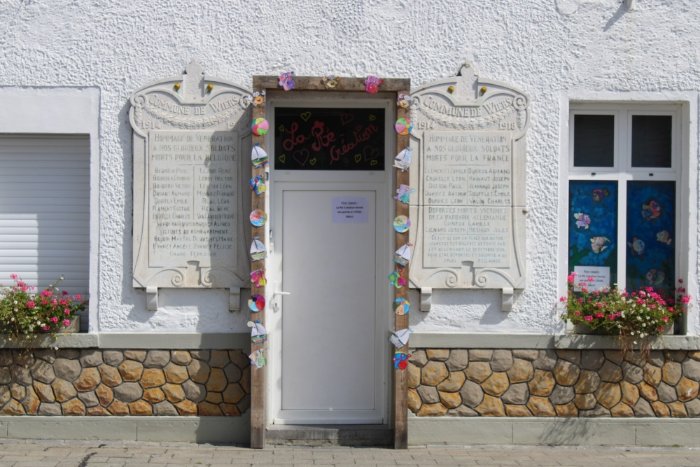 Commemorative Plaques First World War Wiers