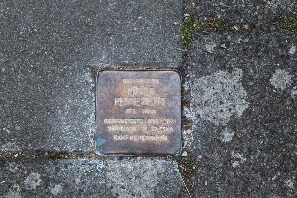 Stumbling Stone Dr. Lemmenstraat 30