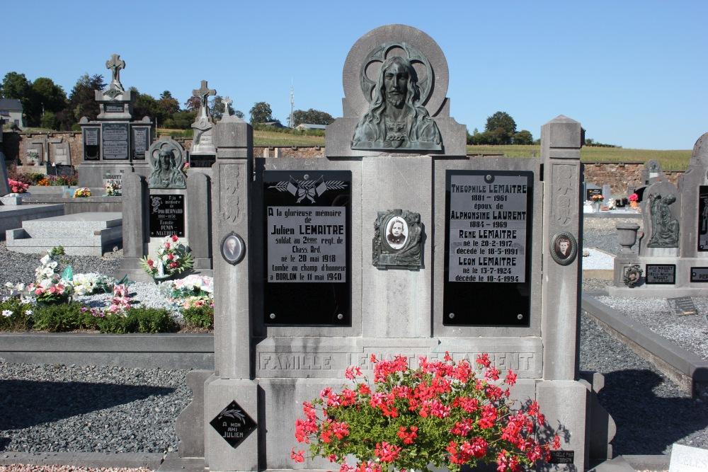 Belgian War Graves Bercheux
