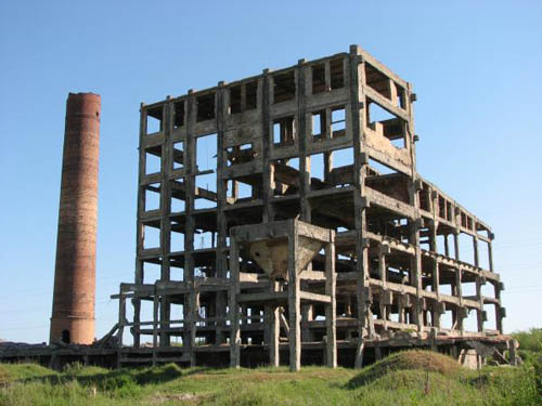 Ruine Fabriek Kerch