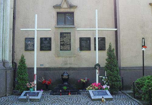 War Memorial & Urn War Victims Legnica