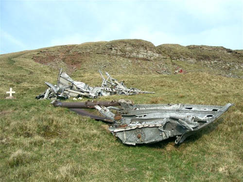 Crash Site & Wreckage Wellington Bomber