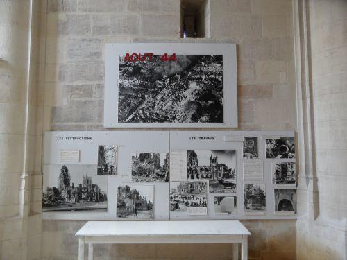 Exposition Bombardment Église Saint-Germain Argentan