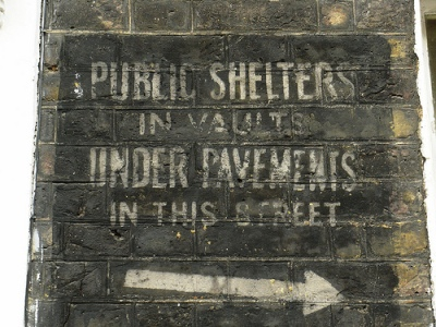 Signs Air Raid Shelters Westminster
