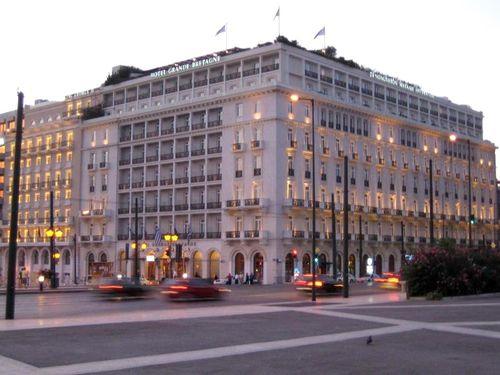 Hotel 'Grande Bretange' Athene