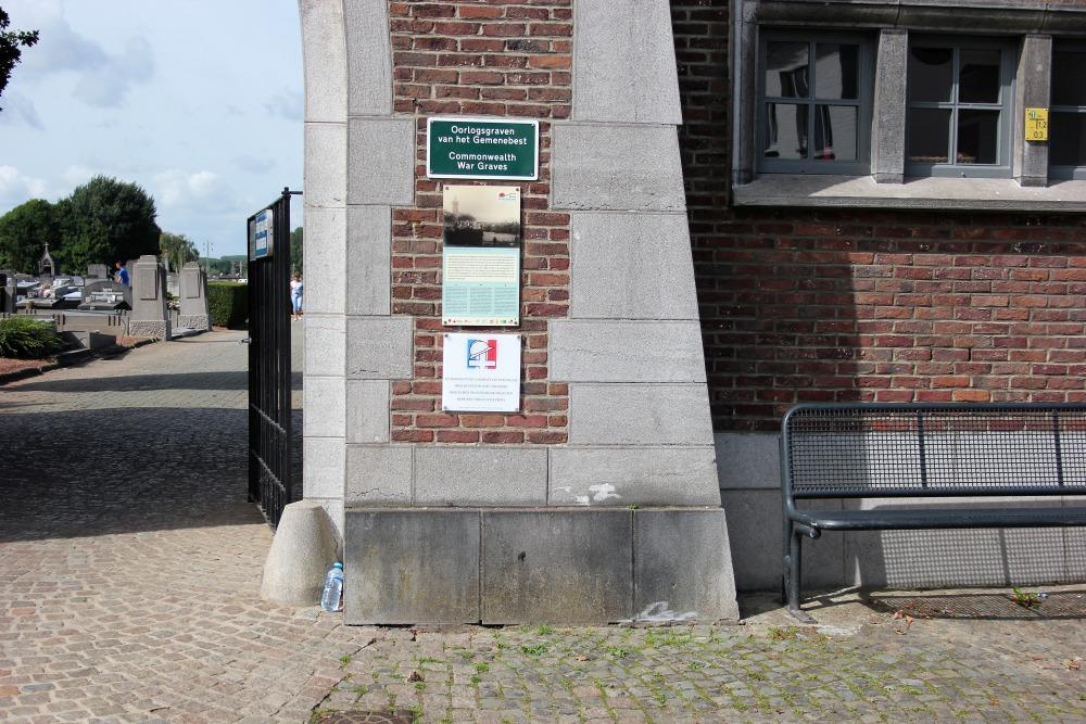 Oorlogsgraven van het Gemenebest Aalst