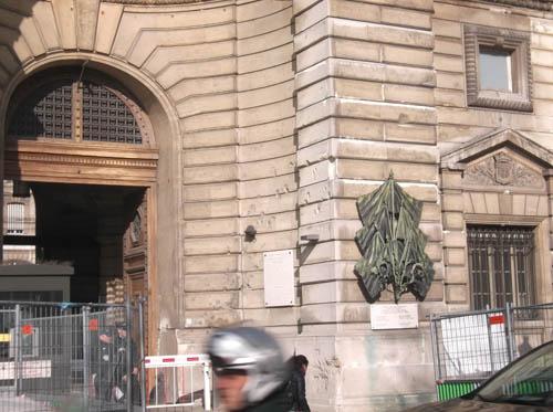 Politiehoofdkwartier Parijs